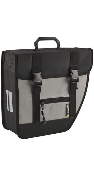 Basil Tour Single Seitentasche rechts schwarz/silber